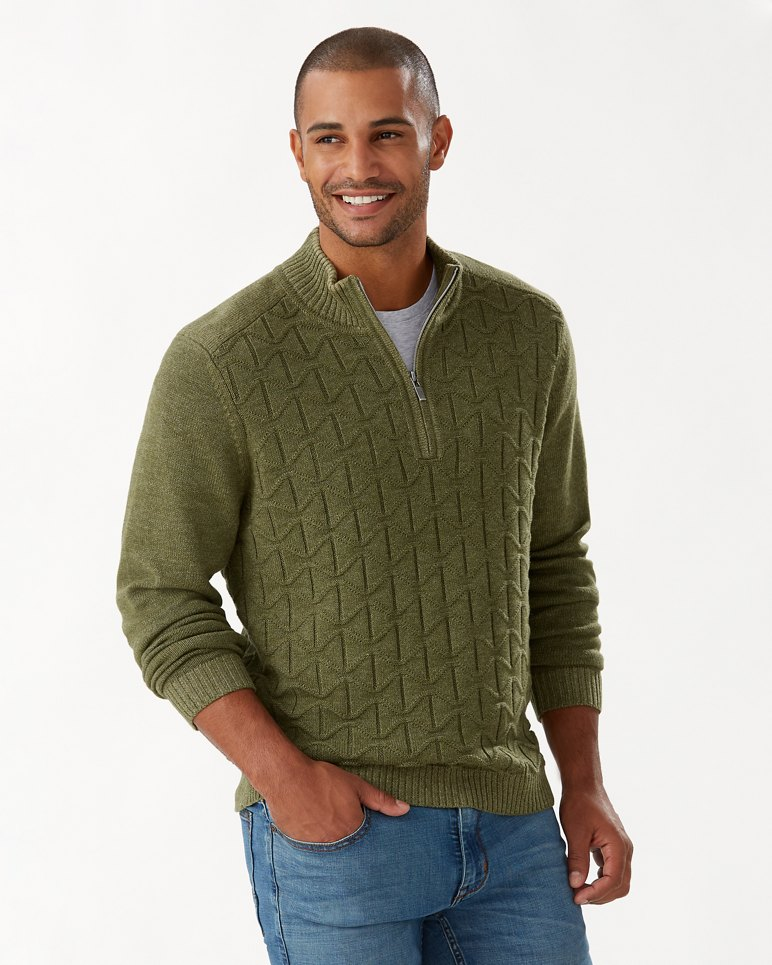 Main Image for Palm Vista Half-Zip Sweater