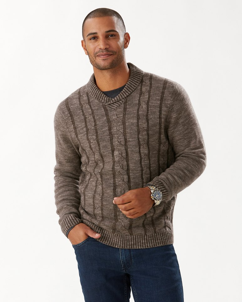 Main Image for Pinyon Pines Shawl-Neck Sweater (Online Exclusive)