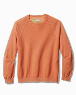 Sea Wave Crewneck Sweater