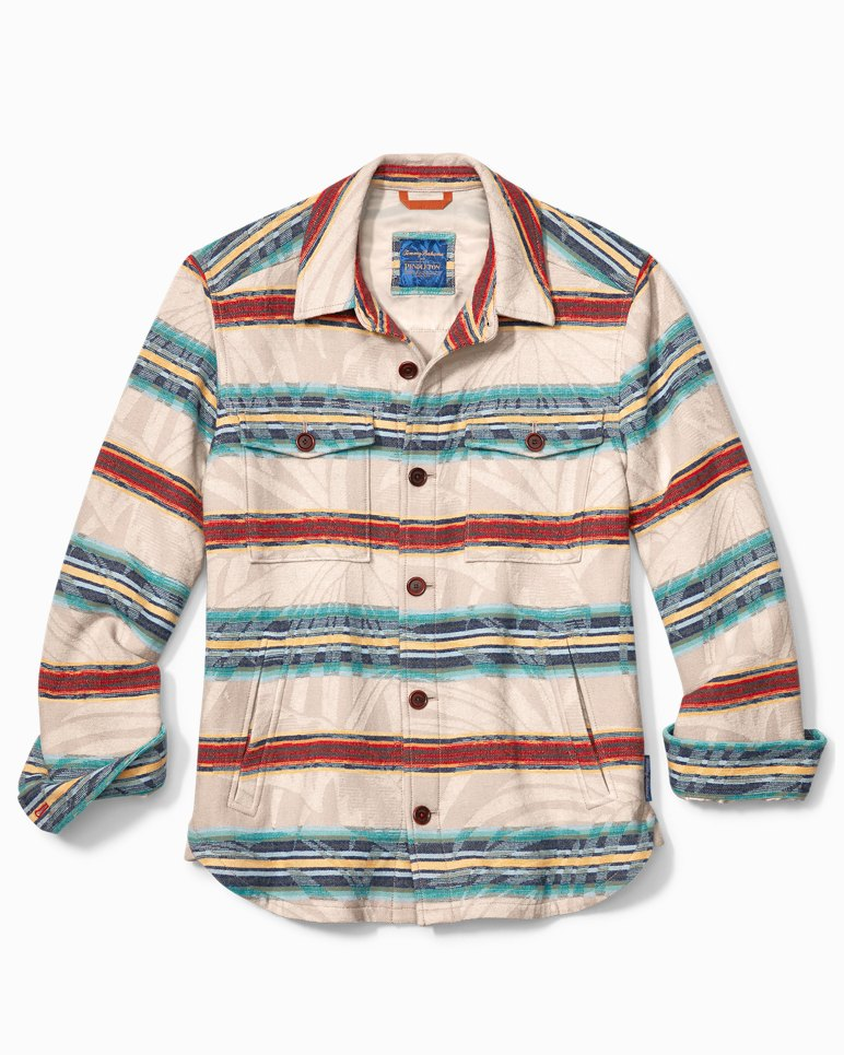 Main Image for Tommy Bahama & Pendleton® Island Serape Stripe Shirt Jacket