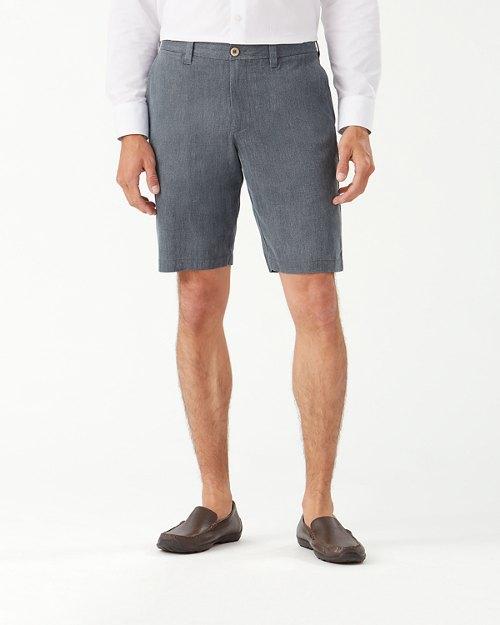 Havana Herringbone 10.5-Inch Shorts