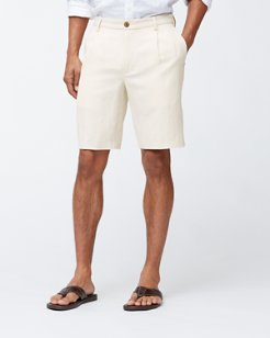 Monterey 10-Inch Pleated Shorts