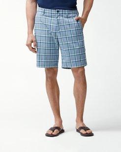 Deltona Plaid 10-Inch Shorts
