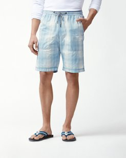 Portside Ombré Pull-On Shorts