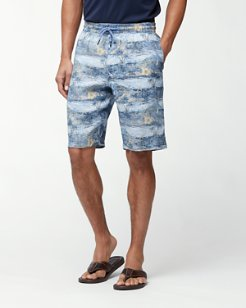 Trade Winds Island 10-Inch Linen Pull-On Shorts