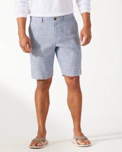 Harbor Herringbone 10-Inch Shorts