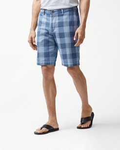 Diego Plaid 10-Inch Shorts