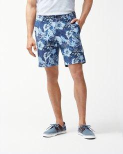 Fuego Floral 10-Inch Shorts