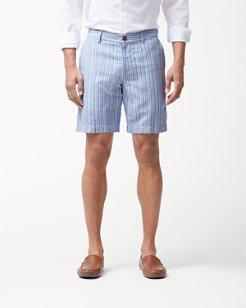 Marina Stripe 8-Inch Shorts