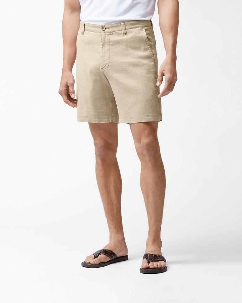 Beach Linen 8-Inch Shorts | Tuggl