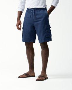 Soleil Beach 10-Inch Cargo Shorts