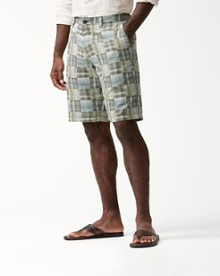 Patchwork In Paradise 10-Inch Shorts