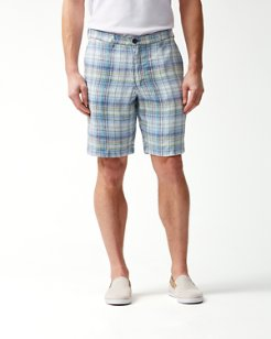 Duo Cove 10-Inch Linen Shorts