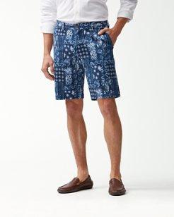 Piña Shibori 10-Inch Shorts