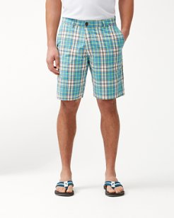 Porto De Palm Reversible 10-Inch Shorts