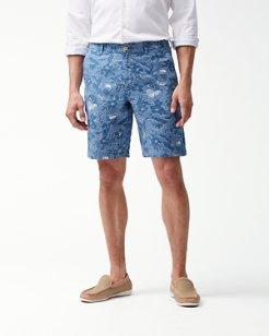 Tiki Luau 10-Inch Shorts