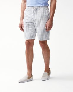 Greenskeeper Check IslandZone® 10-Inch Shorts