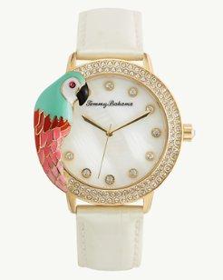 Parrot Watch With Swarovski® Crystals