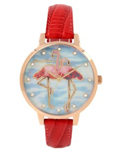 Paradise Flamingo Watch