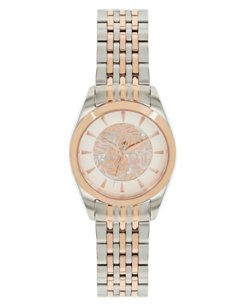 Tulum Two-Tone Bracelet Watch