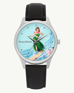 Island Time Hula Hula Watch