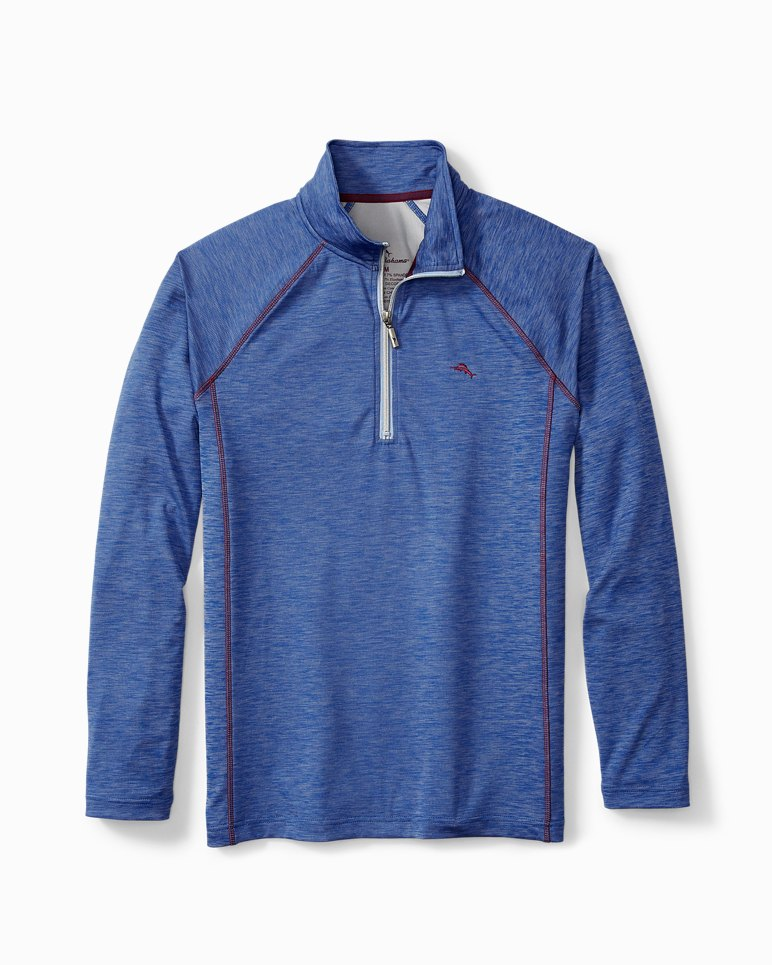 Main Image for Double Knit Half-Zip Lounge Shirt