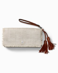 Grenadine Wristlet Clutch