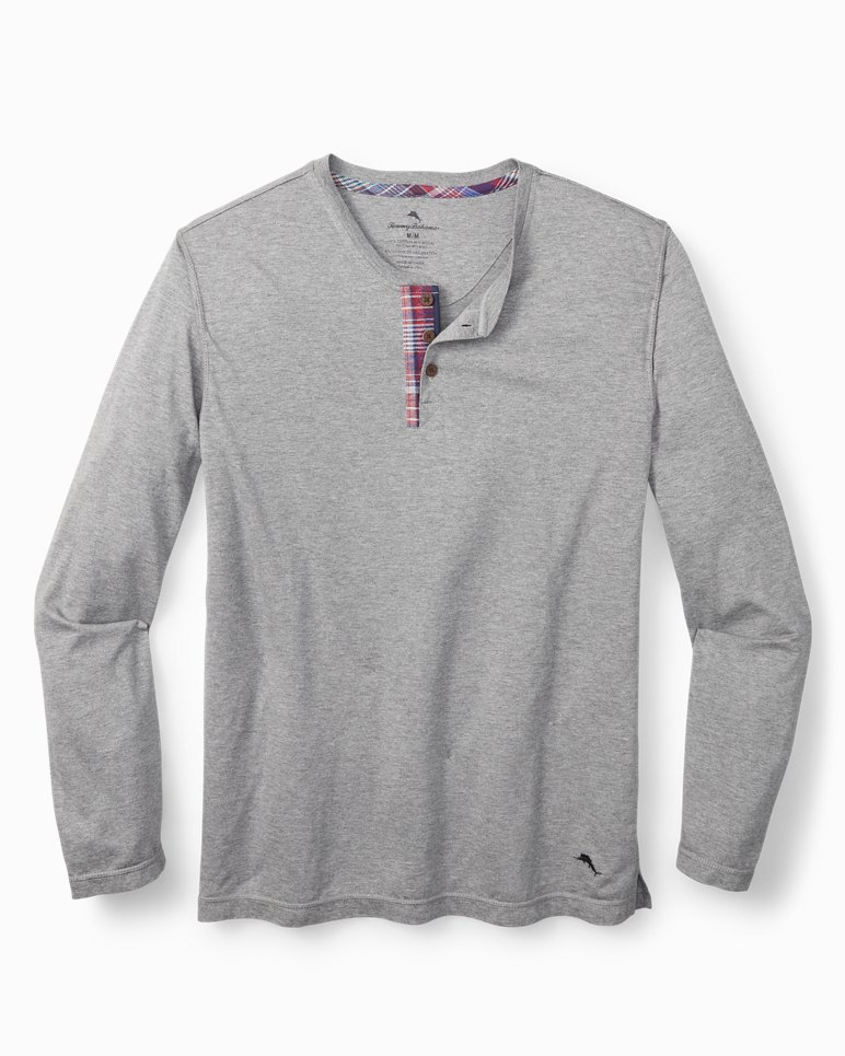 Main Image for Cotton Modal Henley Lounge Shirt
