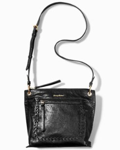 Ipis Leather Zip Crossbody Bag