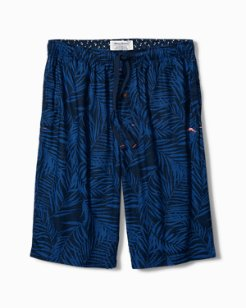 Midnight Leaves Lounge Shorts