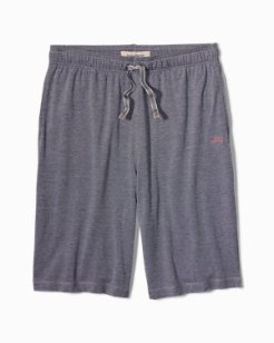 Solid Piqué Lounge Shorts