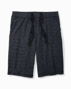 Space Dye Jersey Knit Pajama Shorts