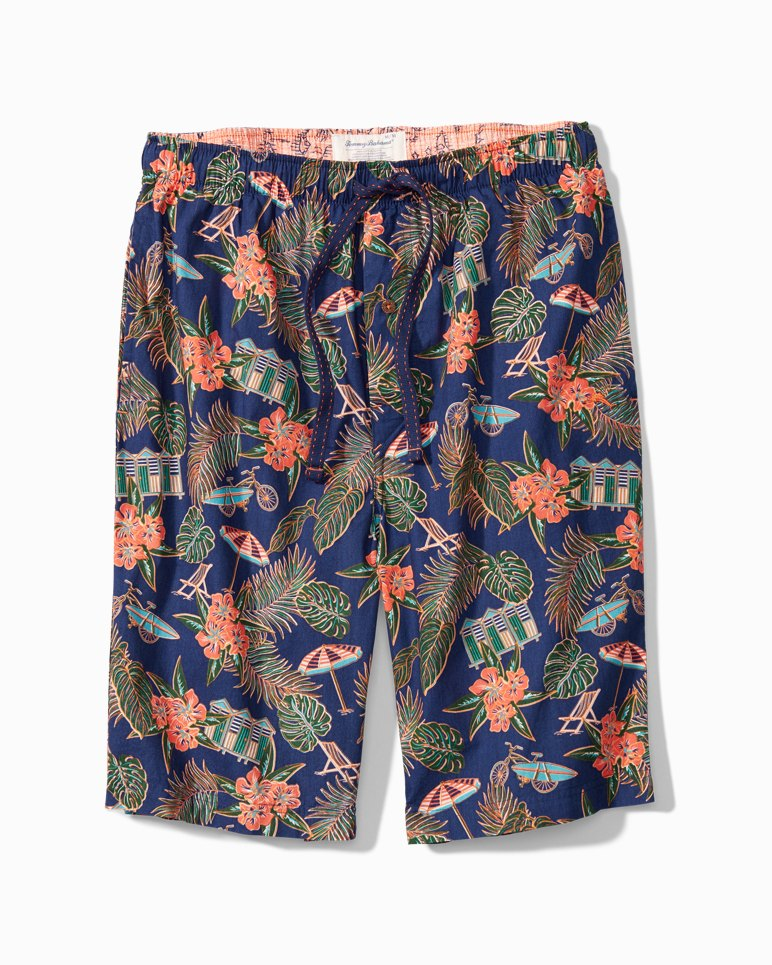 Main Image for Big & Tall Scenic Woven Lounge Shorts