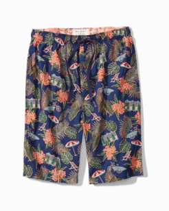 Big & Tall Scenic Woven Lounge Shorts