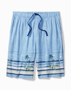 Beach View Knit Lounge Shorts