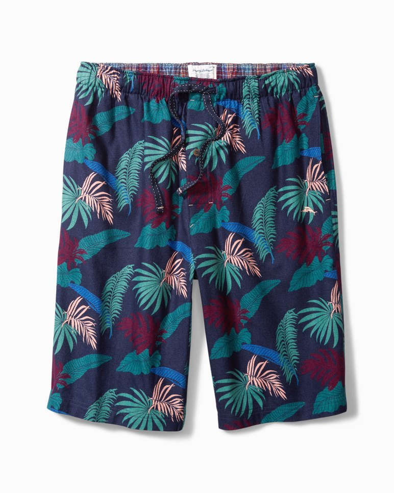 Main Image for Ocean Leaves Flannel Lounge Shorts