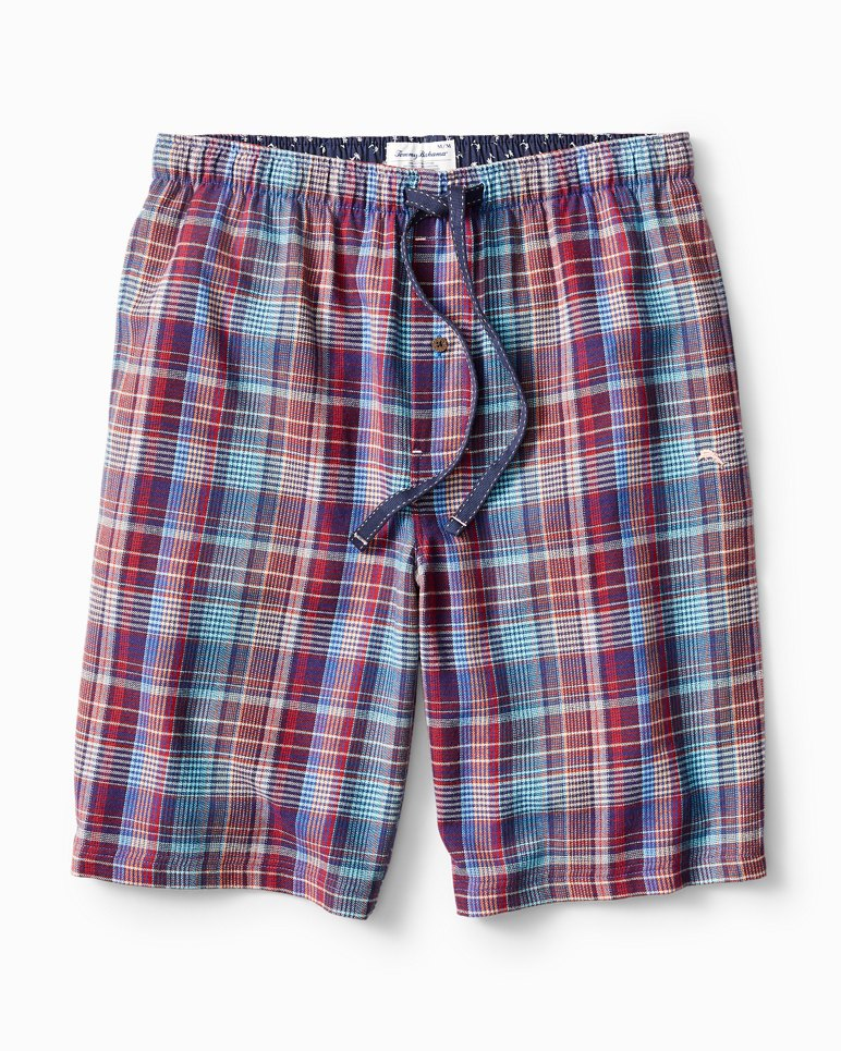 Main Image for Plaid Paradise Flannel Lounge Shorts