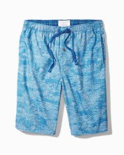 Marlin Scene Woven Lounge Shorts