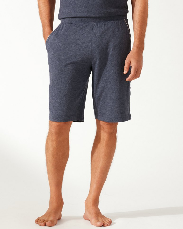 Heather Cotton Modal Lounge Shorts by Tommy Bahama