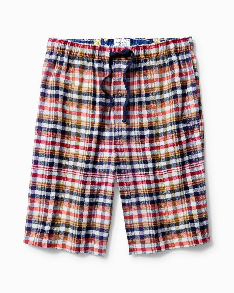 Main Image for Winter Plaid Flannel Lounge Shorts