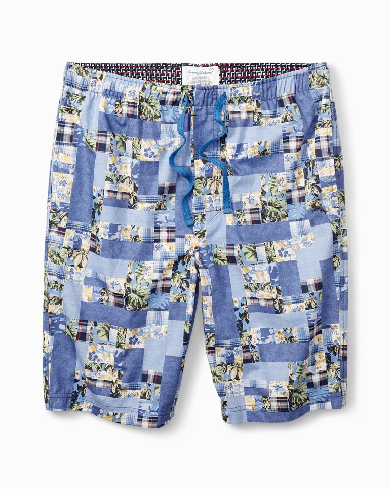 Main Image for Patchwork Woven Lounge Shorts