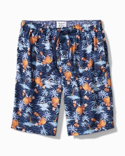 Pineapple Woven Lounge Shorts