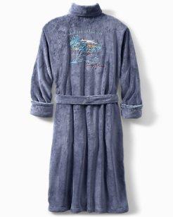 Live The Island Life Plush Robe