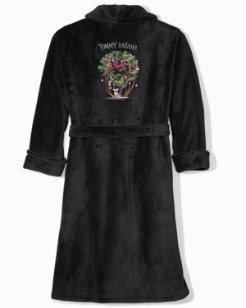 Wish Yule Were Here Plush Robe