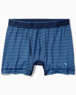 Striped Tech Boxer Briefs