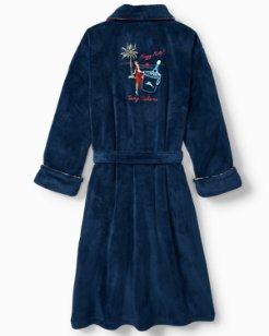 Happy Hula Plush Robe