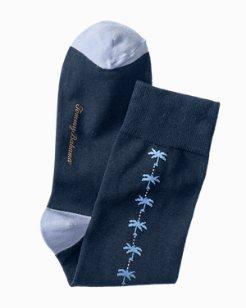 Palm Clocking Socks