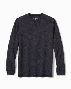 Space Dye Jersey Long-Sleeve T-Shirt