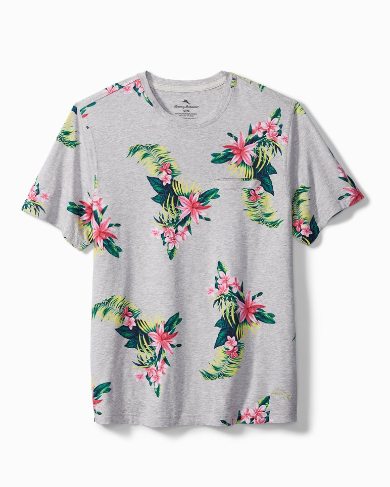 Main Image for Large Floral Knit Lounge T-Shirt