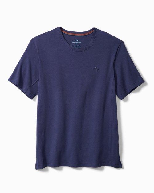 Knit Jersey Short-Sleeve Lounge Shirt